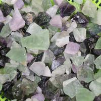 Fluoriitti raakapala violetti tai vihreä 2-3g Kiina