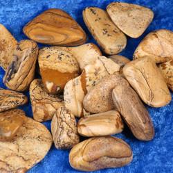 Maisemajaspis rumpuhiottu 10-15g ruskean kirjava
