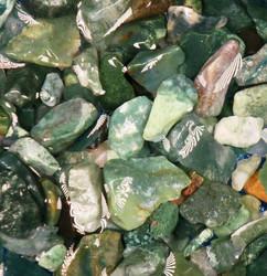 Sammalakaatti raaka vihreä 5-10g Intia
