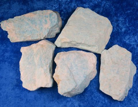 Amatsoniitti raaka 27g 50x33x10mm Madagaskar