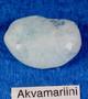 Akvamariini rumpuhiottu 30g 42x28x18mm