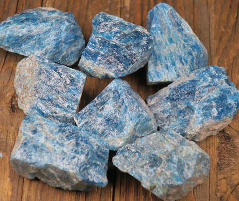 Apatiitti sininen raaka 20-25g Madagaskar