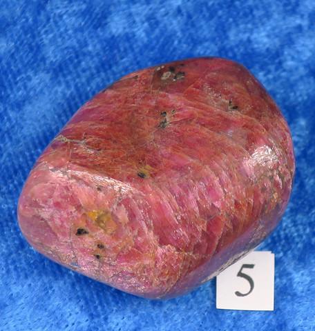 Rubiini rumpuhiottu punainen korundi 34g nro5  Intia