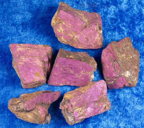 Purpuriitti raaka 10-15g harvinainen, Namibia
