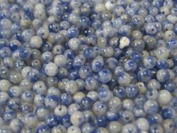 Sodaliitti 3mm sinivalkoinen irtohelmi
