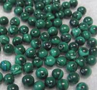 Malakiitti vihreä 8mm irtohelmi