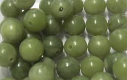 Serpentiini vihreä 6mm irtohelmi