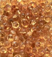 Sitriini 4x2mm keltainen irtohelmi
