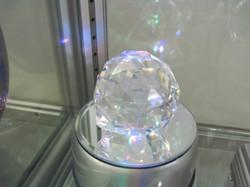 Kristallilasipallo 6cm ripustettava viistehiottu ikkunakristalli