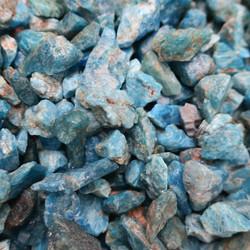 Apatiitti sininen raaka alle 1g Madagaskar