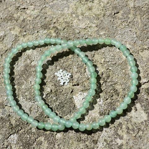 Rannekoru vihreä aventuriini 4mm