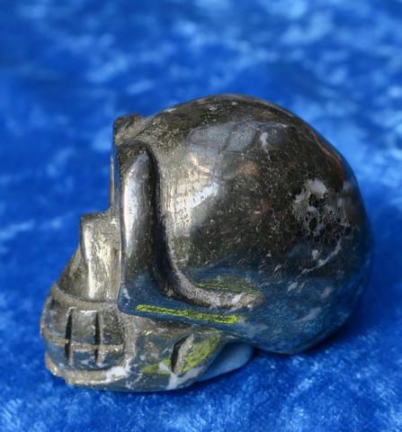 Pyriitti KALLO 119g 33mm kallon leveys 49s6 pyrite skull
