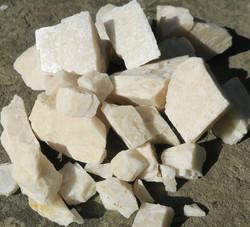 Kuukivi raaka valkoinen 1-2g Intia