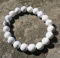 Rannekoru magnesiitti valkoinen 10mm
