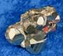 Pyriitti kidesykerö 34g 35mm Peru py9