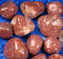 Ryoliitti, Rhyolite rumpuhiottu punaruskea 3-5g