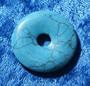 Riipus magnesiitti turkoosivärjätty kividonitsi 30mm