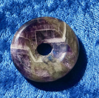 Riipus ametistikvartsi kividonitsi 30mm