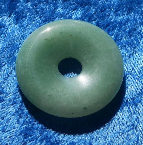 Riipus aventuriini vihreä kividonitsi 35mm
