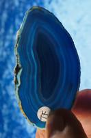 Akaattilevy sinivihreä 65x35mm siivu TF