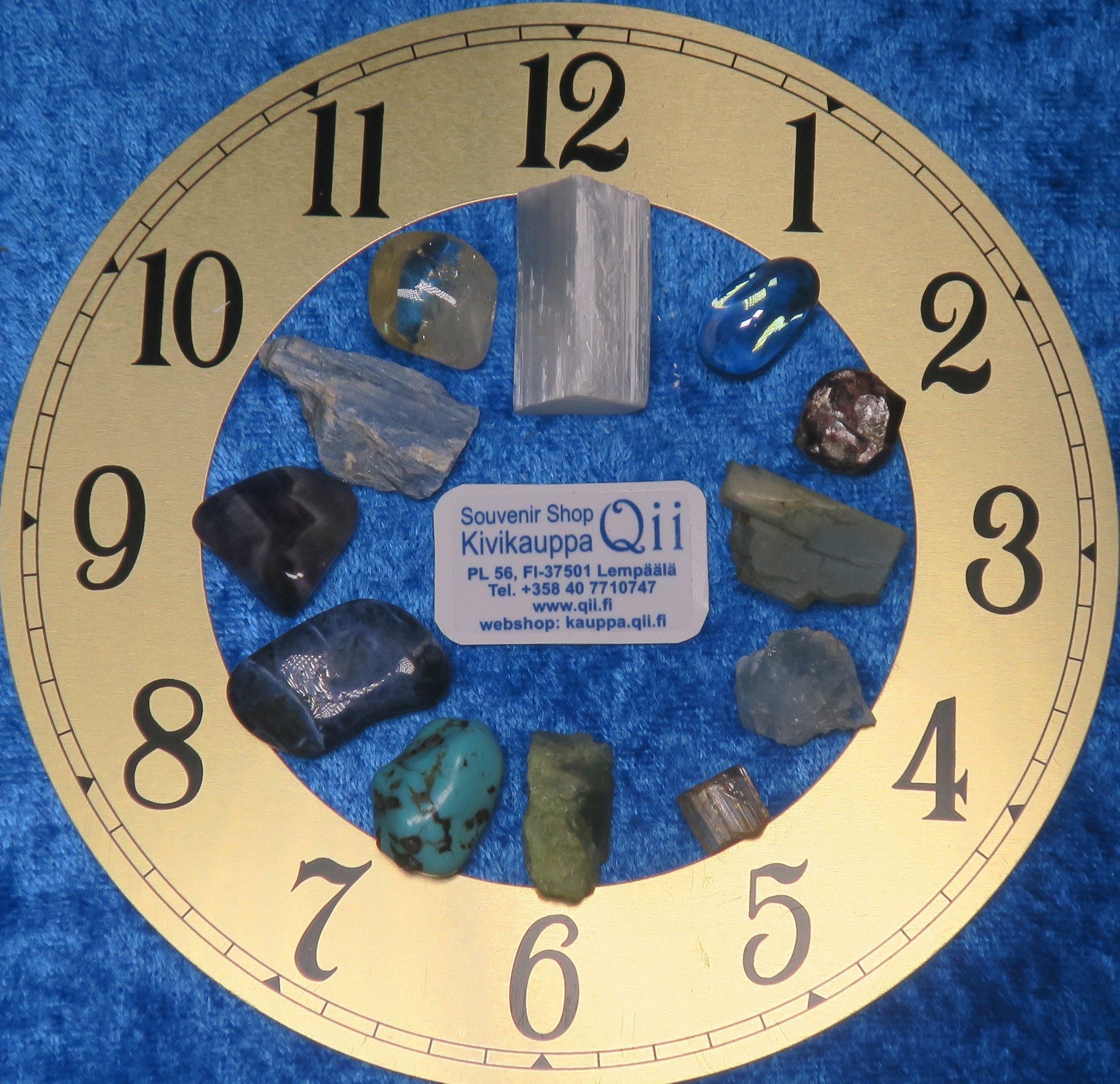 12 chakran kivet