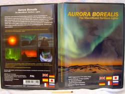 DVD-PAL Aurora Borealis 6-kielinen revontulet DVD