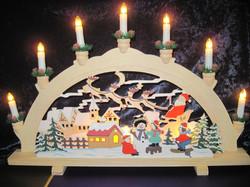 Kynttelikkö:  jouluaiheinen, ihana!
