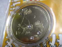 Muumi keräilyraha Muumimamma, Swarowskin kristallein koristeltu