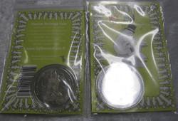 Muumi keräilyraha Muumipappa, Swarowskin kristallein koristeltu