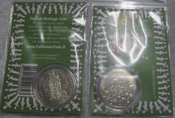 Muumi keräilyraha Muumiperhe, Swarowskin kristallein koristeltu