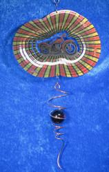 Tuulihyrrä: Moottoripyörä, lasipallospiraali