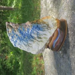 Maljakko Vuori, leveä, korkeus 22cm, keramiikkaa, sininen vaasi