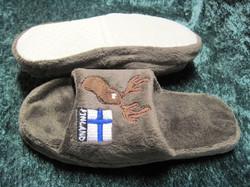 Tohvelit hirvi, Suomenlippu, Finland, lasten koko, kids