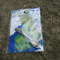 Viikinki pikkulusikka tinaa, pakauksessa Suomen kartta