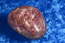 Rubelliitti pinkki turmaliini rumpuhiottu n.4-5cm, 73g E ja D