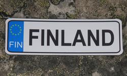Magneetti: Finland 'rekkari' n.9x3cm