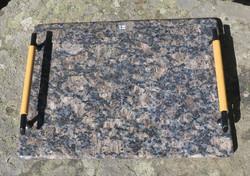 Tarjotin graniitti kivitarjotin 33x22cm nroTR15