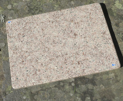 Tarjotin tarjoilualusta syeniitti kivitarjotin 30,5x23cm nro TR14