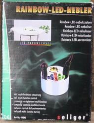 Suihkulähdepumppu: Usvalähteen pumppu, moniväriset LED-valot
