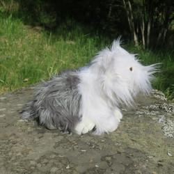 Pehmolelu Lammaskoira, Vanhaenglanninlammaskoira, Old English Sheepdog