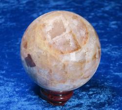 Kivipallo kvartsi ja jaspis 370g 60mm