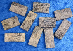 Haukansilmä kapussi raaka n.12x14mm cabochon  erikoisuus
