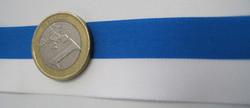 Sinivalkoinen nauha leveys 25mm polyester myydään metreittäin