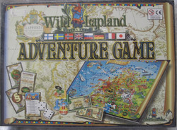 Lautapeli: Adventure game- Wild Lapland (manual in 8  languages)