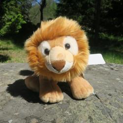 Pehmolelu Leijona urosleijona, nenästä hännänpäähän 36cm