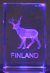 Kristallikuutio 4cm Poro, Finland
