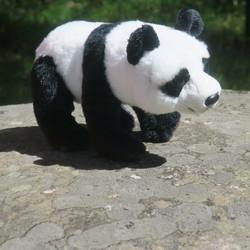 Pehmolelu Panda 22cm, kuonosta häntään 27cm