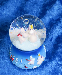 Lumisadepallo Muumit Moomin 45mm