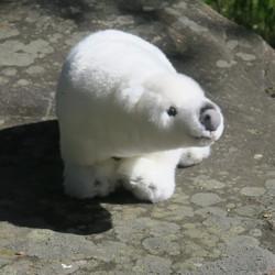 Pehmolelu jääkarhu 40cm, kävelevä asento