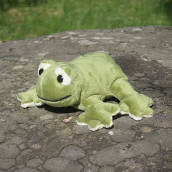Pehmolelu Sammakko 13cm, vihreä